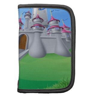 Cartoon King and Castle Organizer
