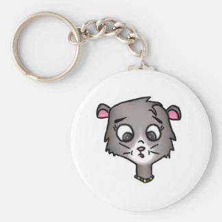 Cartoon Kitten Keychain
