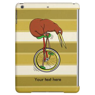 Cartoon Kiwi Bird Unicyling iPad Air Case