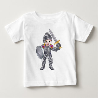 Cartoon Knight Girl Baby T-Shirt