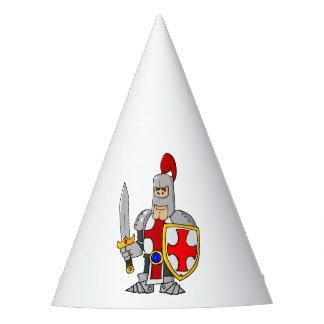 Cartoon Knight Party Hat