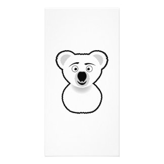 Cartoon Koala Bear Card