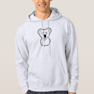 Cartoon Koala Bear Hoodie
