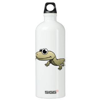 Cartoon Komodo Dragon Aluminum Water Bottle
