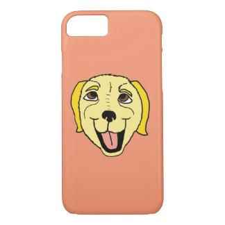 Cartoon Labrador Retriever Head iPhone 8/7 Case