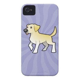 Cartoon Labrador Retriever iPhone 4 Case-Mate Case