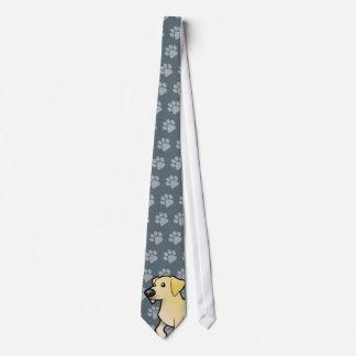 Cartoon Labrador Retriever Neck Tie