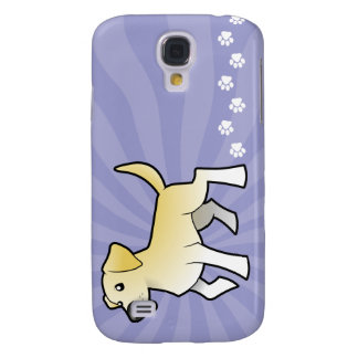 Cartoon Labrador Retriever Samsung Galaxy S4 Cover