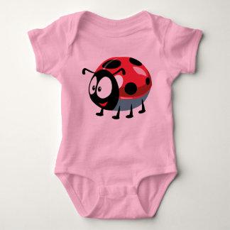 cartoon ladybird baby bodysuit