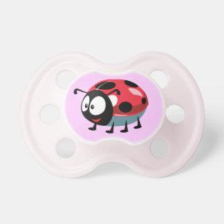 cartoon ladybird pacifier