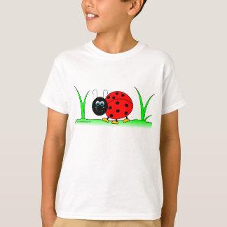 Cartoon Ladybug Kids T-Shirt
