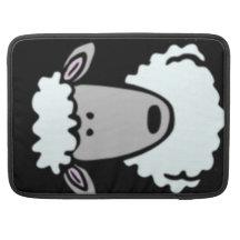 Cartoon Lamb Face MacBook Pro Sleeves