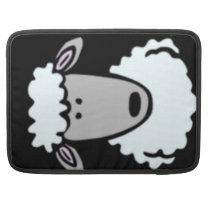Cartoon Lamb Face Sleeve For MacBook Pro