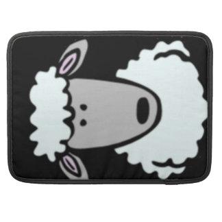 Cartoon Lamb Face Sleeve For MacBooks