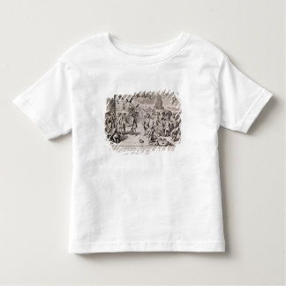Cartoon lampooning the disastrous experiment toddler t-shirt