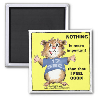 Cartoon Law Of Attraction Abrahamster Magnet
