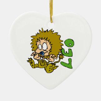 Cartoon Leo Ceramic Ornament