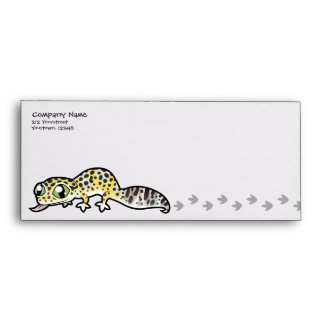 Cartoon Leopard Gecko Envelope