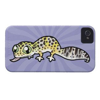Cartoon Leopard Gecko iPhone 4 Case
