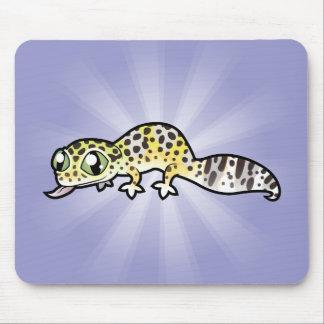 Cartoon Leopard Gecko Mouse Pad
