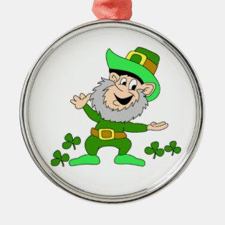 Cartoon Leprechaun Ornament