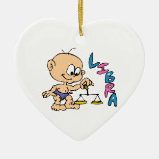 Cartoon Libra Ceramic Ornament