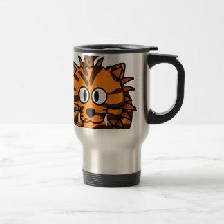 Cartoon Liger Travel Mug
