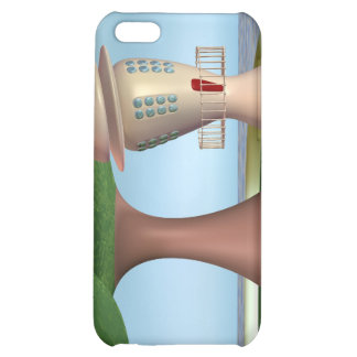 Cartoon Lighthouse By The Sea iPhone 5C Cases
