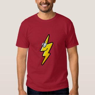 Cartoon Lightning Bolt T-Shirt