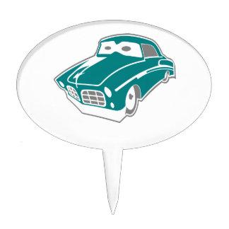 Cartoon-Limousine Cake Topper