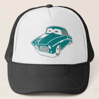 Cartoon-Limousine Trucker Hat
