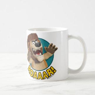 Cartoon Lion Animal Mug