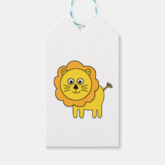 cartoon lion gift tags