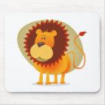 Cartoon Lion Mouse Pad