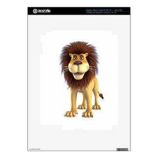 Cartoon Lion Skin For iPad 3