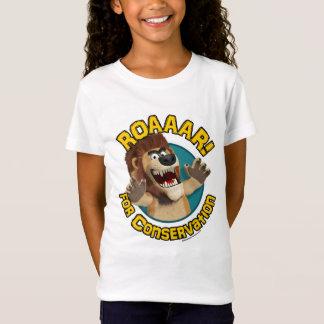 Cartoon Lion T-Shirtl: For Conservation T-Shirt
