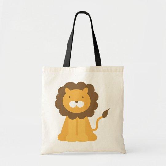 Cartoon Lion Tote Bag
