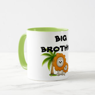 Cartoon Lion Wildlife Coffee Mug