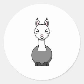 Cartoon Llama Stickers