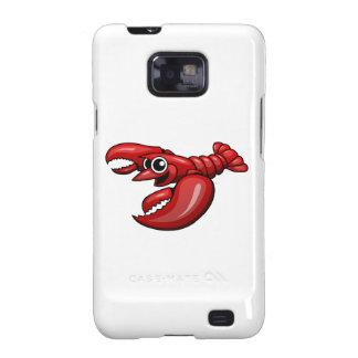 Cartoon Lobster Samsung Galaxy SII Cover