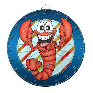 Cartoon Lobster Dartboard