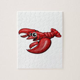 Cartoon Lobster Jigsaw Puzzle