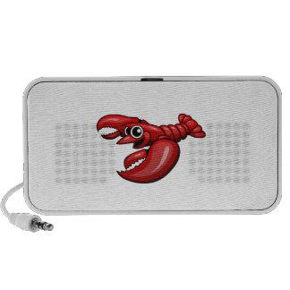 Cartoon Lobster PC Speakers