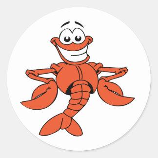 Cartoon Lobster Stickers