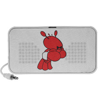 cartoon lobster waiter PC speakers
