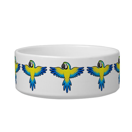 Cartoon Macaw / Parrot Bowl