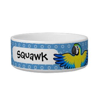 Cartoon Macaw / Parrot Bowl
