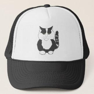 Cartoon Maine Coon Cat. Trucker Hat