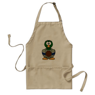 Cartoon Mallard Duck Apron