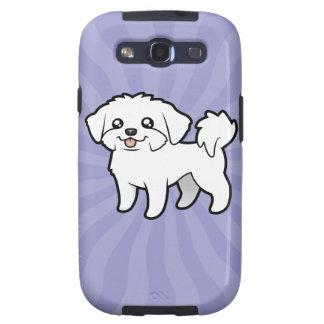 Cartoon Maltese (puppy cut) Samsung Galaxy S3 Case